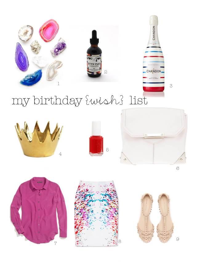 gift guide, birthday, wish list