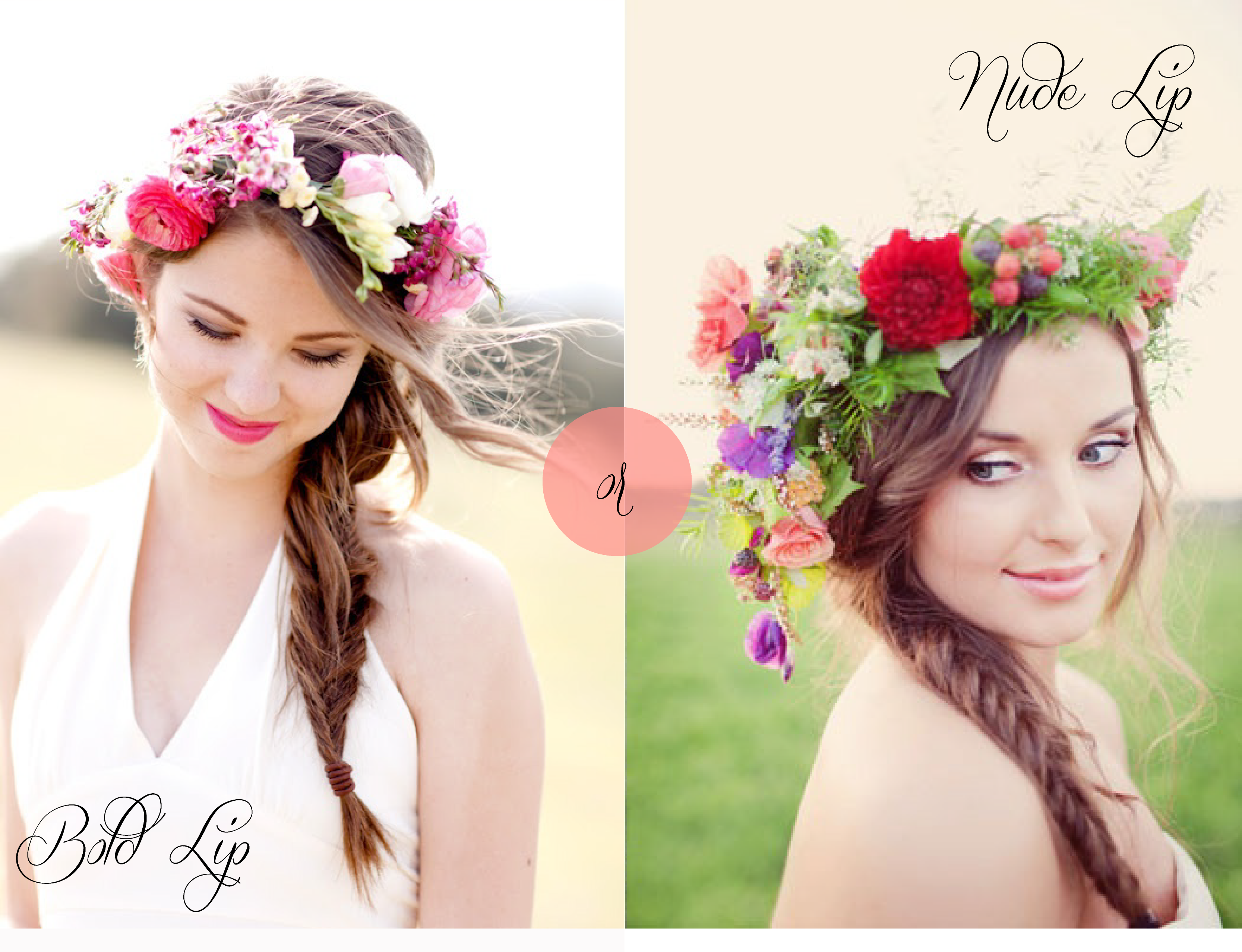 Bridal Inspiration: Floral Crowns