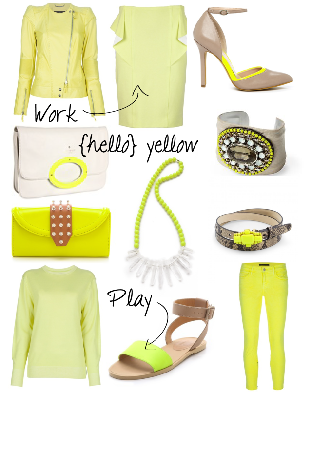 Add a pop of yellow to any outfit!