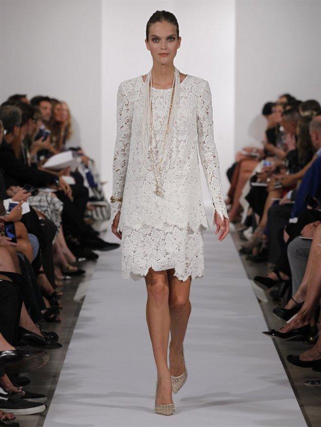 Bridal Inspiration | Oscar de la Renta 2014 #NYFW